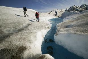 photo of heli walk glacier tour