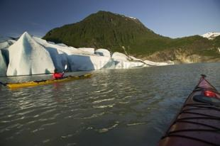 photo of Mendenhall Glacier Kayaking Kayak Pictures