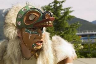 photo of chilkat dancers