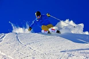 photo of Alpine Skiing Whistler Mountain British Columbia Canada