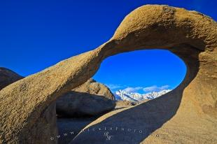 photo of Arch Formation Sierra Nevada Mountains