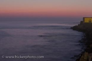 photo of Sunset Atlantic Ocean Cadiz Costa De La Luz Andalusia Spain