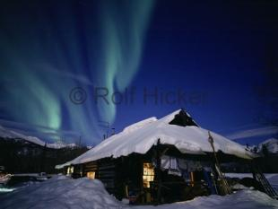 photo of Aurora Borealis Photos Trappers Cabin