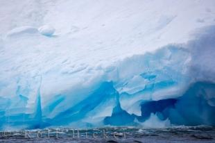 photo of Blue Ice Background Picture