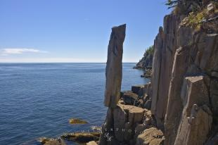 photo of Balancing Rock Coastal Geology Nova Scotia Canada