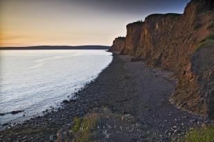 photo of Bay Of Fundy Scenic Coastline Nova Scotia Canada