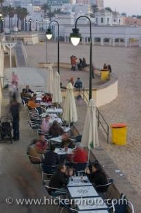 photo of Beach Cafe La Caleta Cadiz City Coastline