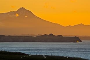 photo of Beautiful Mount Taranaki Coastal Scenery West Coast North Island NZ