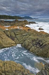 photo of Beautiful Scenic Coastline Picture Northern Vancouver Island