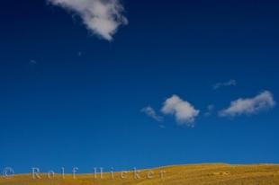 photo of Blue Sky Crown Range Road Central Otago New Zealand