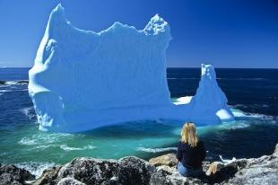 photo of Blue Iceberg