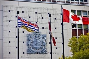 photo of British Columbia Canada Flag