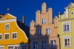 photo of Buildings Of Landshut Bavaria Germany