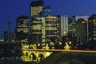 photo of Calgary Canada Night