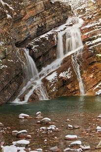 photo of Cameron Falls Waterton Lakes National Park Alberta