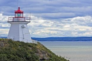 photo of Cape Enrage Lighthouse Cliff Albert New Brunswick