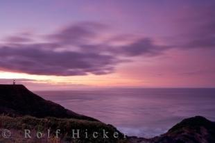 photo of Cape Reinga Colorful Sunset New Zealand