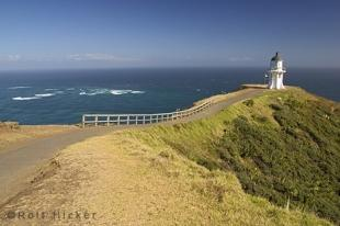 photo of Scenic Cape Reinga Lighthouse New Zealand
