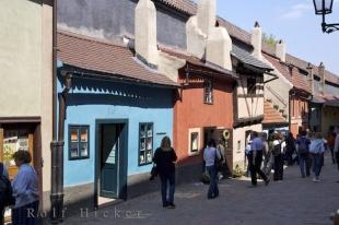 photo of Prague Castle Lane Shops Czech Republic