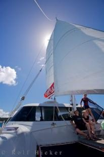 photo of Catamaran Skipper Life Style New Zealand