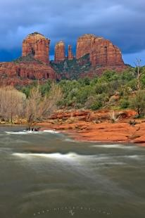 photo of Cathedral Rock Formation Sedona