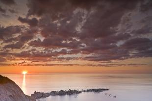 photo of Cloud Formation Coastal Scenery Sunset Newfoundland