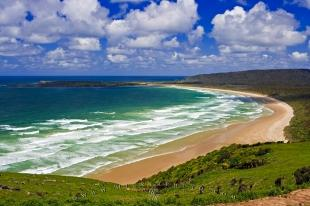 photo of Coastal Scenery Tautuku Bay Catlins South Island New Zealand