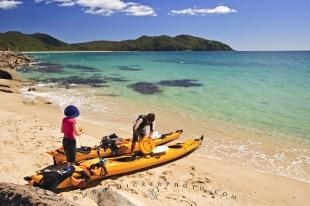 photo of Abel Tasman Coastal Scenery Kayaking South Island New Zealand