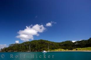 photo of Coastal Scenery Motuarohia Island New Zealand