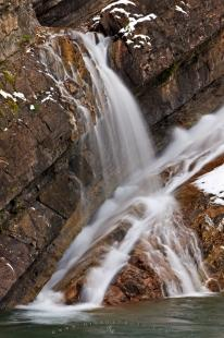 photo of Cool Water Details Waterfall Picture