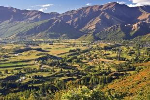 photo of Crown Range Scenic Road Near Arrowtown New Zealand