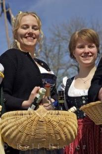 photo of Cute Bavarian Girls