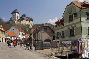 photo of Czech Republic Historic Karlstein Castle And Village