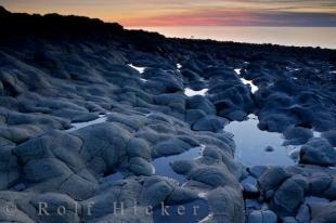 photo of Delaps Cove Sunset Nova Scotia