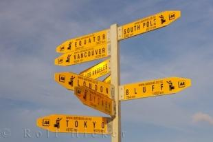photo of Multi Destination Sign Post NZ