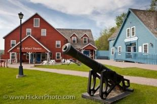 photo of Discovery Harbour Cannon Penetanguishene Bay Ontario Canada
