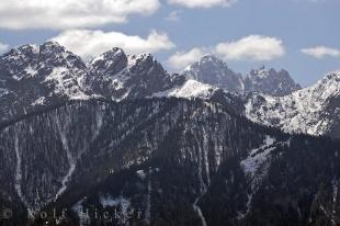photo of Dolomite Mountain Towers Italy