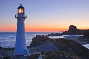 photo of Scenic Castlepoint Lighthouse New Zealand