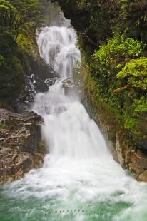 photo of Falls Creek Fiordland National Park New Zealand