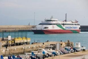 photo of Fast Ferry Tarifa Harbour Andalusia Spain