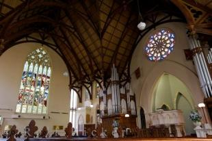 photo of First Church Interior Dunedin City Otago New Zealand