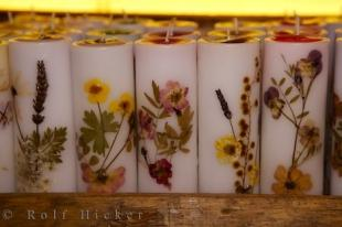 photo of Floral Candles