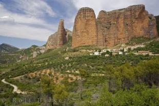 photo of Foothill Village Of Riglos Huesca Aragon