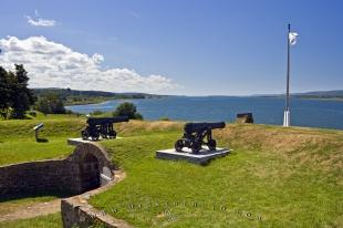 photo of Fort Anne National Historic Site Annapolis Royal Bay Fundy Nova Scotia