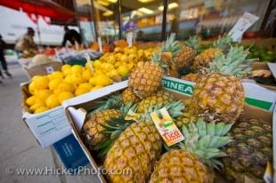 photo of Fresh Fruit Market Stall Downtown Toronto