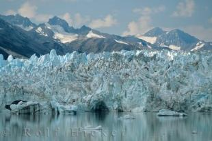 photo of Glacier Colors Kluane National Park Yukon Territory