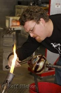 photo of Glassblowing Artist