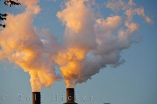 photo of Air Pollution Global Warming Ontario Canada