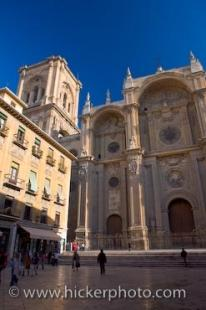 photo of Granada Cathedral Facade Andalusia Spain