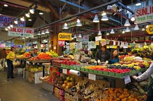 photo of Granville Island Public Market